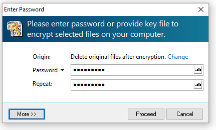enter password windows 10