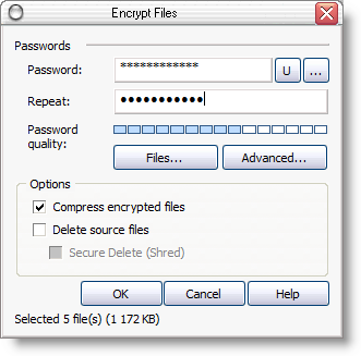 File encryption software
