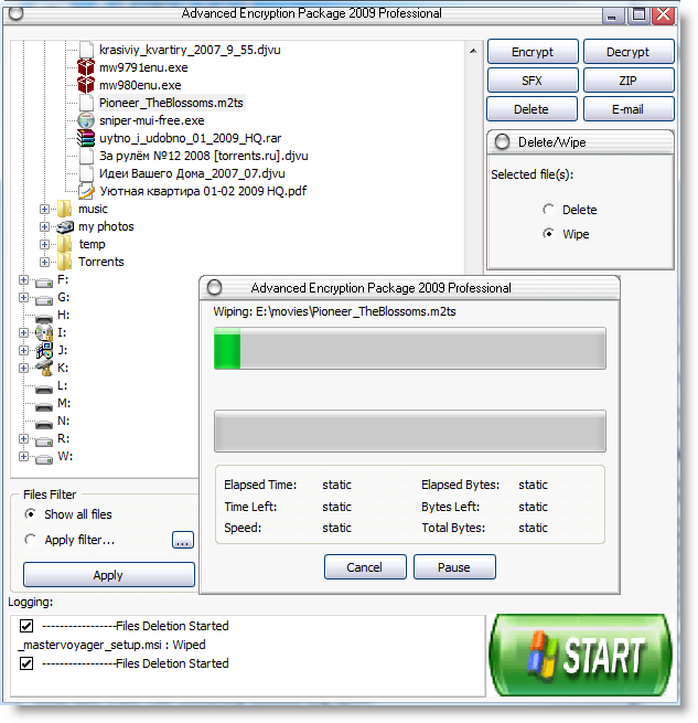 How to securely delete files from FAT/NTFS