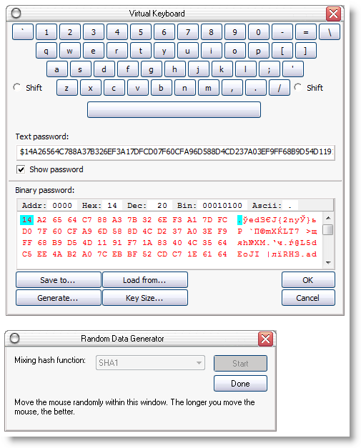Advanced Encryption Package Professional Screenshot